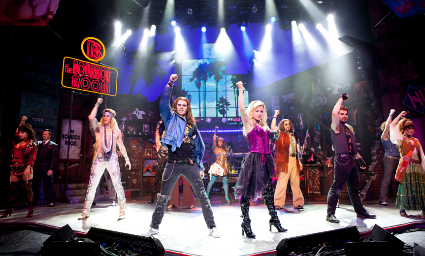 Rock Of Ages Chicago Review