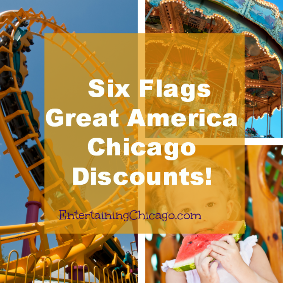 Six Flags Great America Chicago Discount
