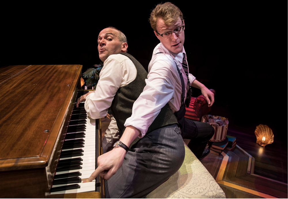 Marriott Theatre's 'Murder For Two' will have you dying with laughter!