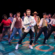 Actors dancing in Footloose