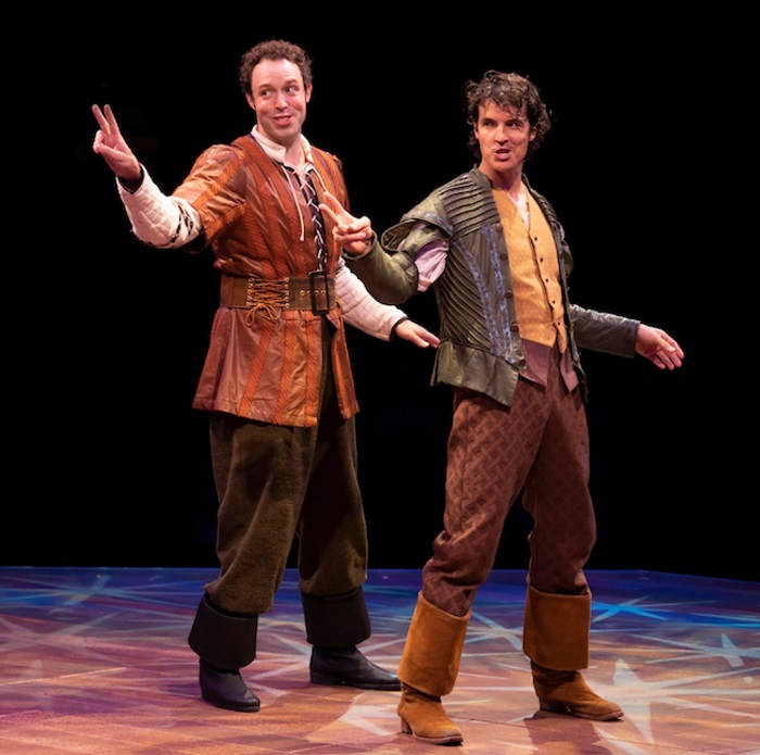 Nick and Nigel Bottom in Something Rotten!