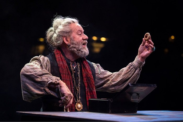 William Brown as Fagin in Oliver!